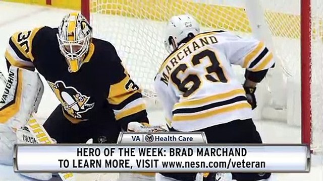 VA Hero Of The Week: Brad Marchand Scores Overtime Winner For Bruins