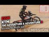 KTM 790 Adventure et Adventure R - Essai Moto Magazine