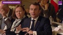 La réponse d'Emmanuel Macron sur le projet de banque européenne pour le climat