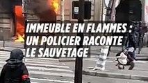Immeuble en flammes rue Roosevelt : « On devait le faire, on devait porter secours »