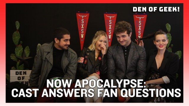 Now Apocalypse: The Cast Answers Fan Questions