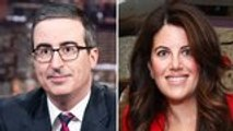 John Oliver and Monica Lewinsky Discuss Public Shaming on 'Last Week Tonight' | THR News