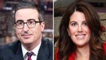John Oliver and Monica Lewinsky Discuss Public Shaming on 'Last Week Tonight' | THR News