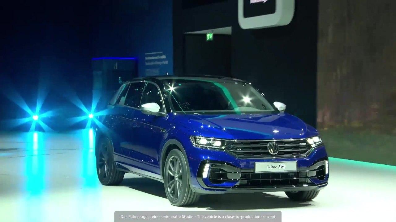 The new Volkswagen T-Roc R premiere at the Geneva Motor Show 2019