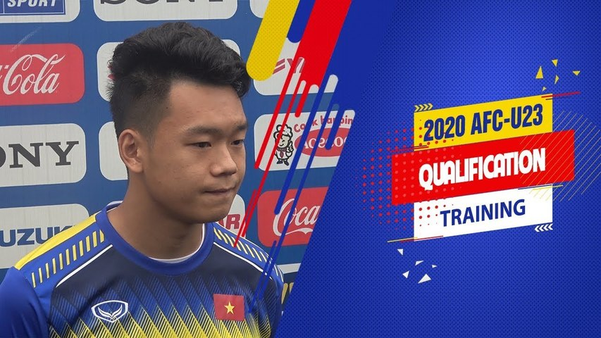 Hậu vệ Thành Chung quyết tâm chứng minh bản thân sau thành công ở VCK U23 châu Á 2018 | VFF Channel