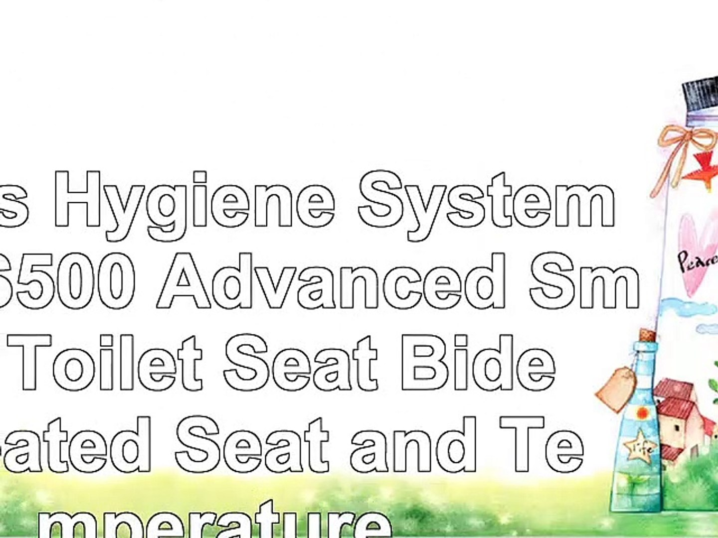 Swell Lotus Hygiene Systems Ats500 Advanced Smart Toilet Seat Bidet Heated Seat And Temperature Creativecarmelina Interior Chair Design Creativecarmelinacom