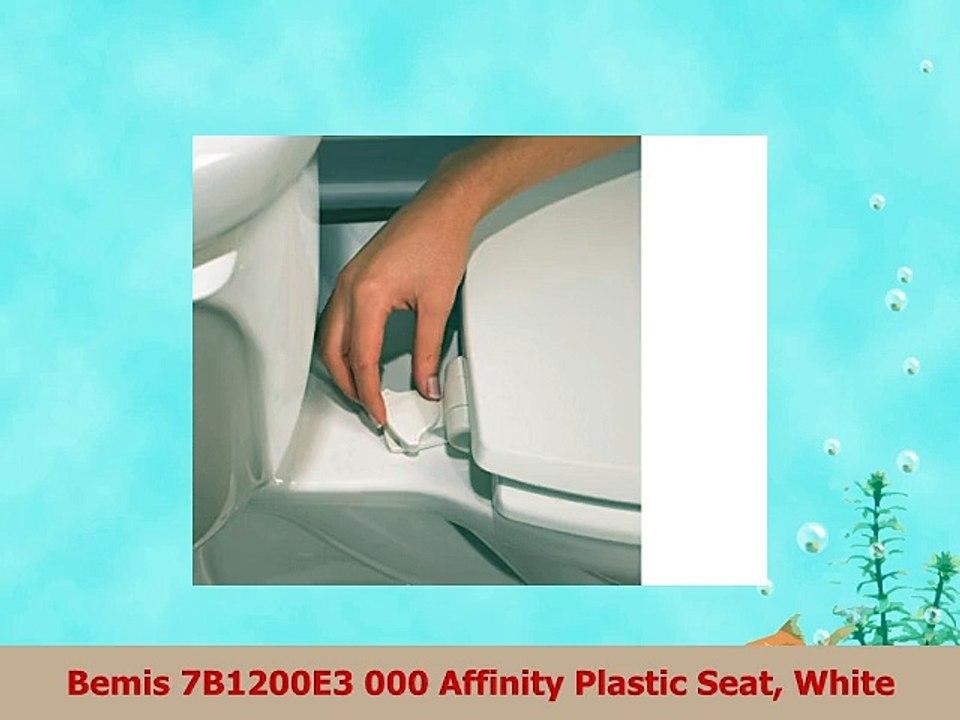 Pleasing Bemis 7B1200E3 000 Affinity Plastic Seat White Machost Co Dining Chair Design Ideas Machostcouk