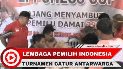Turnamen Catur Antar RW, LPI Satukan Masyarakat Jelang Pemilu 2019
