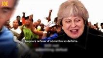 """Theresa May parodiée sur du Dr. Dre: """"Still M.A.Y."""", le son qui tourne en dérision le Brexit"""