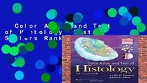 Color Atlas and Text of Histology  Best Sellers Rank : #2