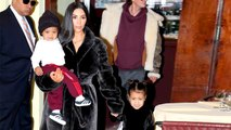 Kim Kardashian Is Being Mom-Shamed for Letting North Wear Lipstick to Church