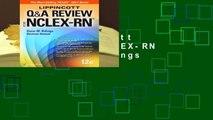 Popular Lippincott Q Review for NCLEX-RN - Diane M. Billings