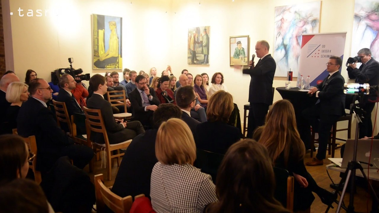 Brusel: A. Kiska na diskusii Od Tatier k Shumanu