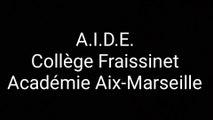 """Prix académique """"Non au harcèlement"""" 2019 - Collège Fraissinet de Marseille"""