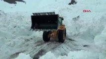 Hakkari Çığ Nedeniyle Kapanan Hakkari- Şırnak Karayolu Açıldı