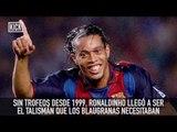 Ronaldinho nos enamoró con su futbol y por eso es considerado un Dios BY KICK