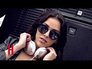 DJ Rossana para rayarle sus discos en H para Hombres de Agosto 2017