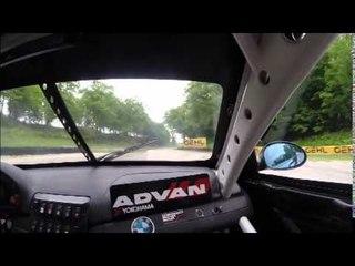 BMW M3 de competencia en Road America