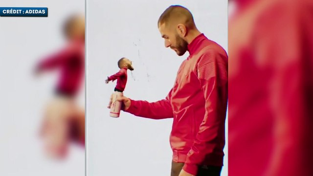 La pub bizarre de Karim Benzema pour adidas