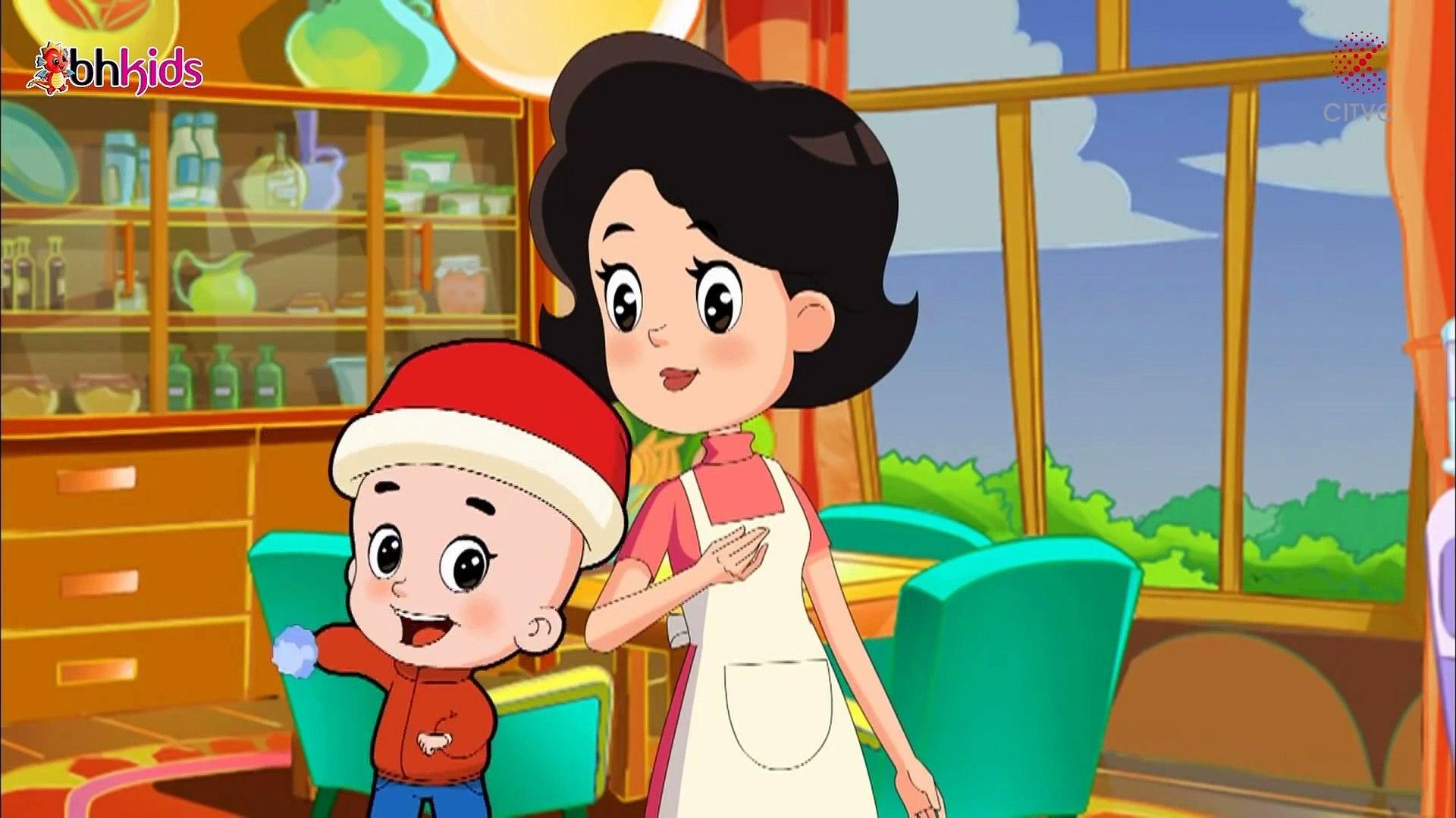 Phim hoạt hình thiếu nhi ý nghĩa nhất 2019 -gia đình đầu to đầu nhỏ- Mẹ thiên vị (tập 2)