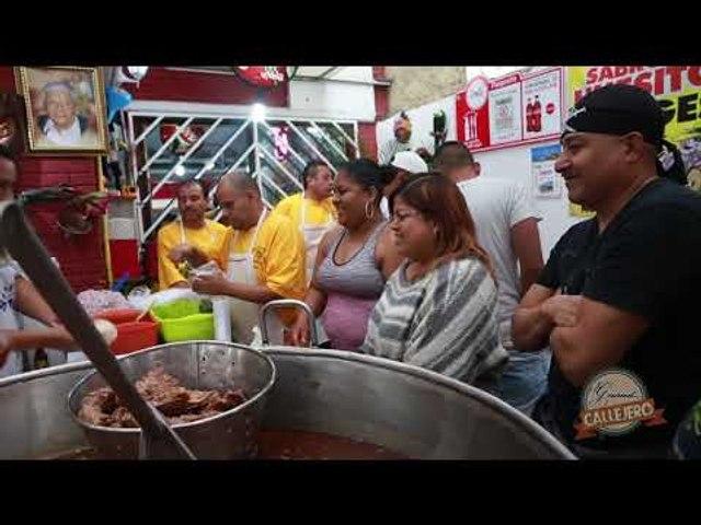 Huesitos Jorge's en el Gourmet Callejero
