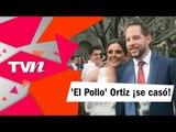 Raoul 'El Pollo' Ortiz y su novia, Begoña Díaz, unieron sus vidas para toda la vida