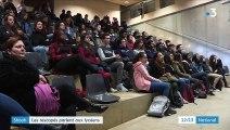 Shoah : des rescapés racontent l'enfer des camps à 5 000 lycéens