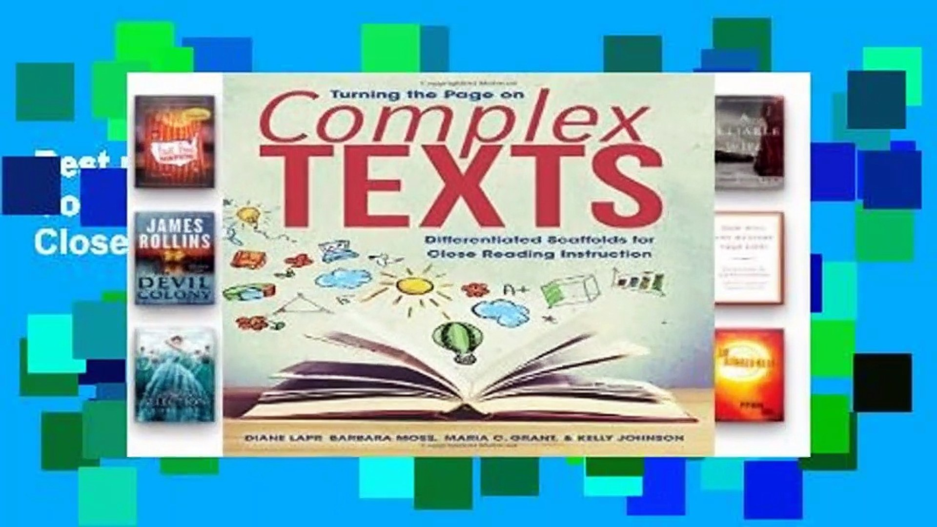 Best product  Turning the Page on Complex Texts: Differentiated Scaffolds for Close Reading