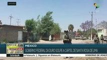 Estado mexicano golpea al cártel Santa Rosa de Lima