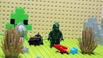 Ultraman Zoffy & Belial VS Monster Godzilla Green Lego Stop Motion Anime