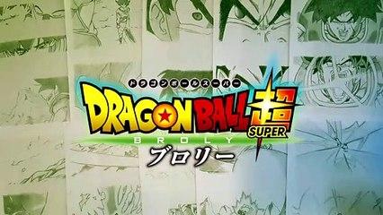 Drawing Dragon Ball Super Broly Trailer 3