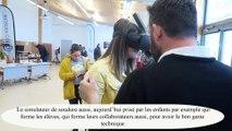 Privas : des élèves découvrent les métiers de l'industrie en réalité virtuelle