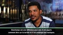"""International - Brandão : """"Deschamps est une référence"""""""