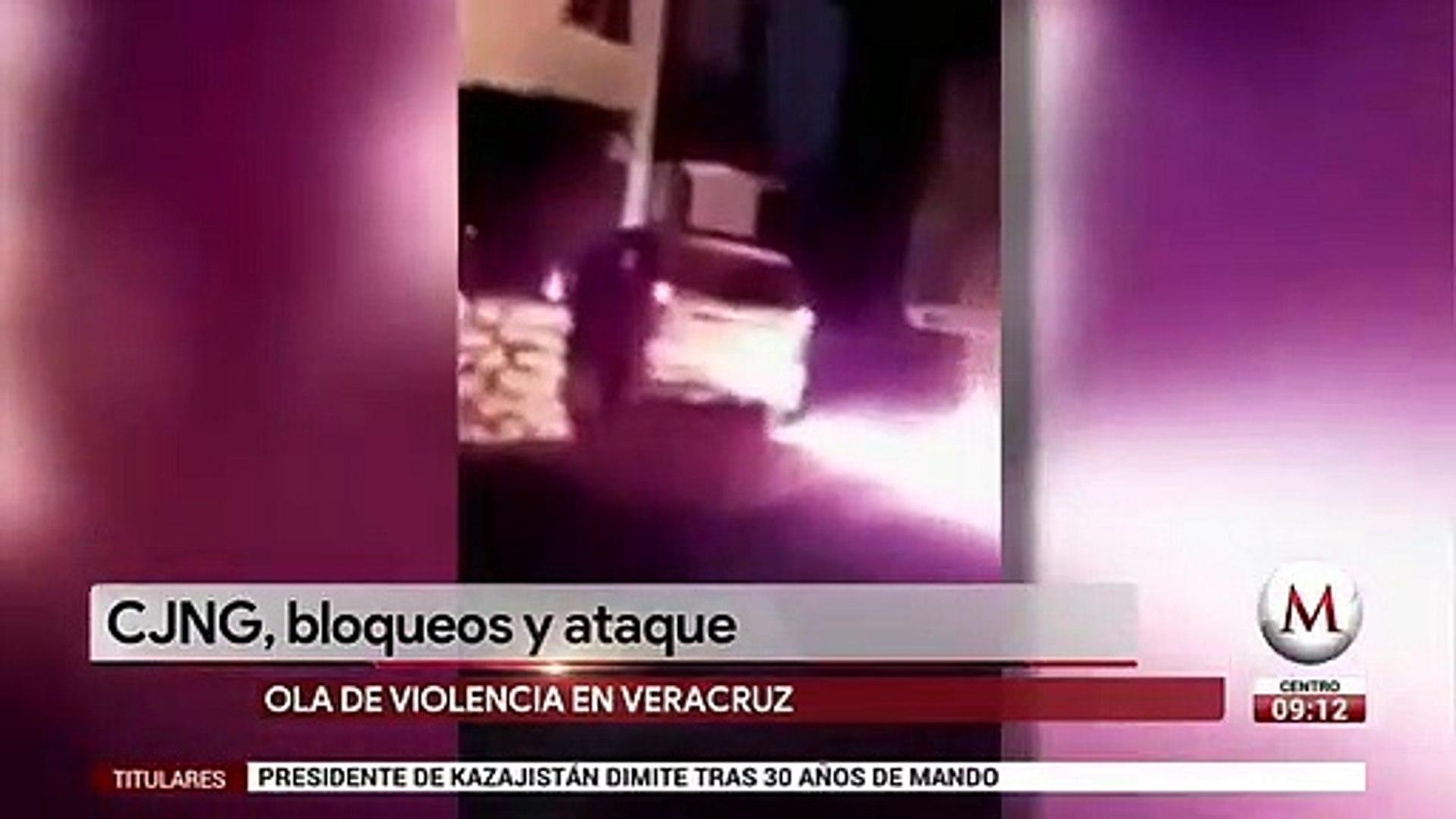 CJNG desata balacera en Veracruz