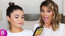 Olivia Jade & Lori Loughlin Joke About Paying Her Education In A Jake Paul Reaction Video
