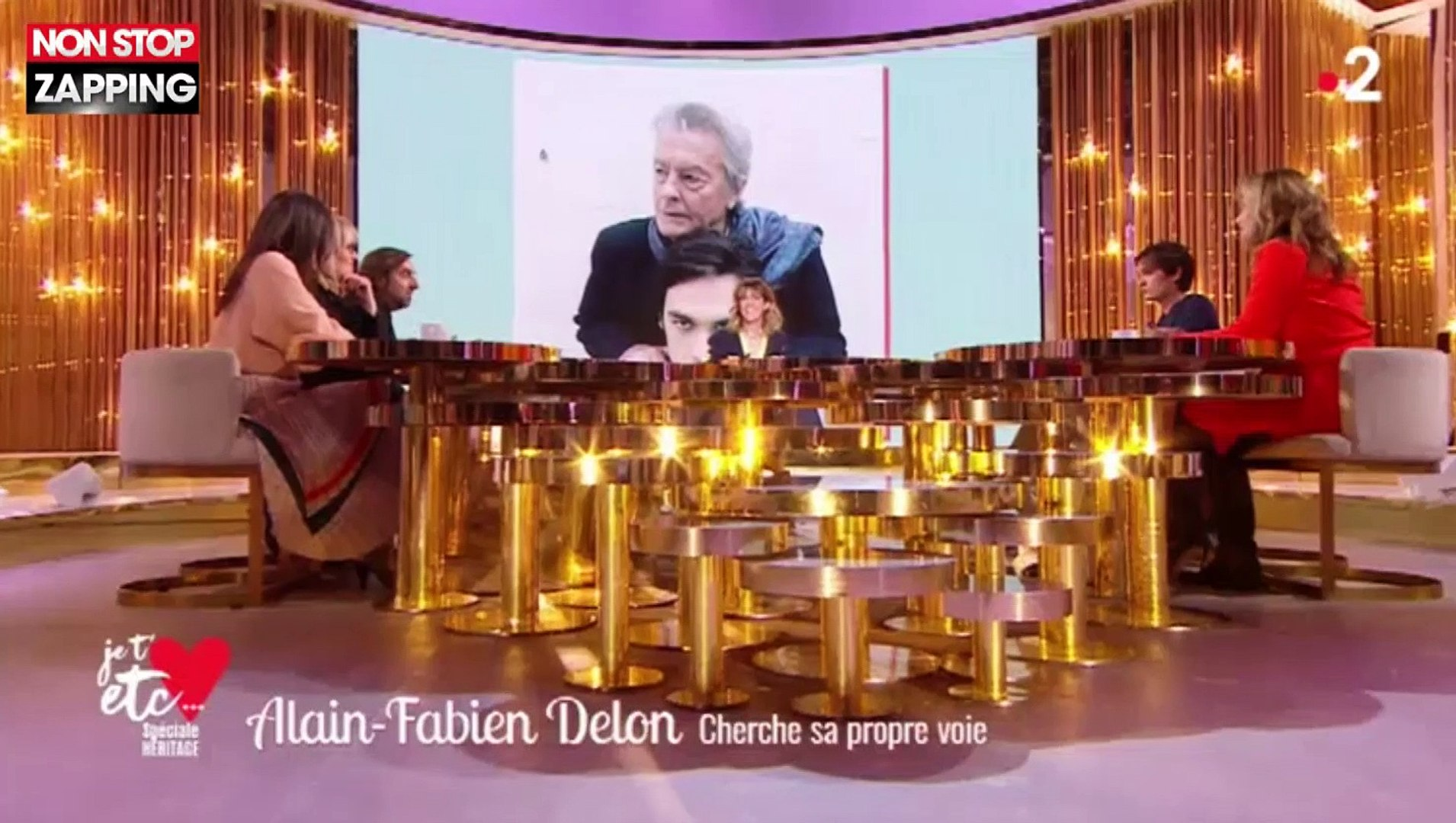Alain-Fabien Delon fan d'André Manoukian : Il lui exprime son admiration (vidéo)