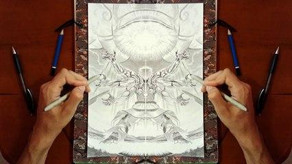 Symétrie - Dessiner ASURA'S WRATH