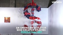 Sculptor Micheal Murphy Forms 2D Images in Three Dimensions