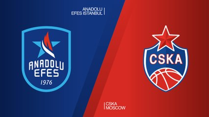 EuroLeague 2018-19 Highlights Regular Season Round 27 video: Efes 78-80 CSKA