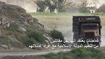 مقاتلو تنظيم الدولة الإسلامية في شرق سوريا ينكفئون إلى ضفاف نهر الفرات
