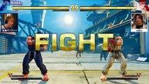 Incroyable match synchronisé sur Street Fighter 5 !