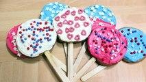 Comment Faire Les Sucettes Biscuits Sucrés | Sugar Cookies in French | Facile Recettes Pour Enfants