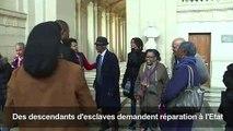 Des descendants d'esclaves demandent réparation à l'Etat