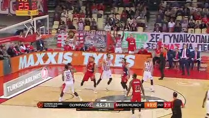 EuroLeague 2018-19 Highlights Regular Season Round 27 video: Olympiacos 89-69 Bayern