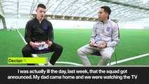(Subtitled) Declan Rice 'bursting with pride' at England call-up