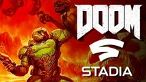 DOOM 2016 - Google Stadia Gameplay