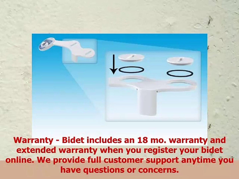 9666be5978d2b Luxe Bidet Neo 110 Fresh Water NonElectric Mechanical Bidet Toilet Seat  Attachment