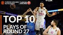 Top 10 Plays  - Turkish Airlines EuroLeague Regular Season Round 27