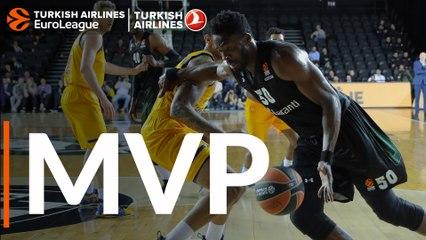 Round 27 MVP: Michael Eric, Darussafaka Tekfen