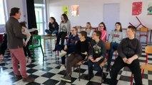 Meuse : à Vaubecourt, les élèves de 5e répètent une pièce de Molière avec un professionnel